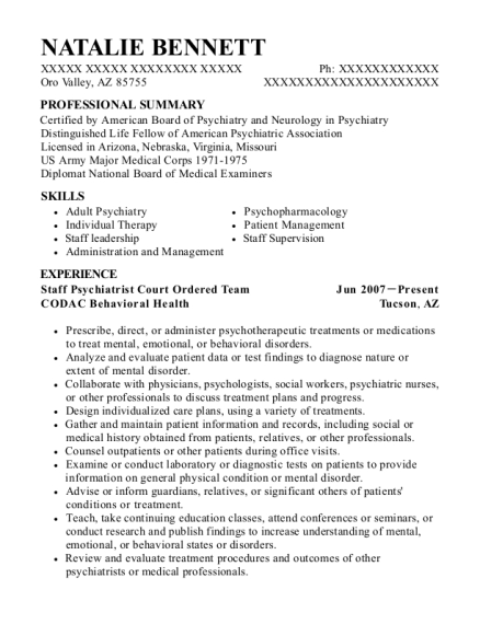 United States Air Force Retired Resume Sample - Boiling