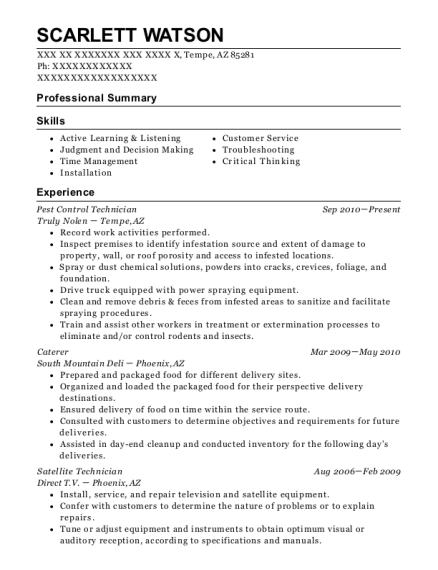 adf cable construction splicer resume sample