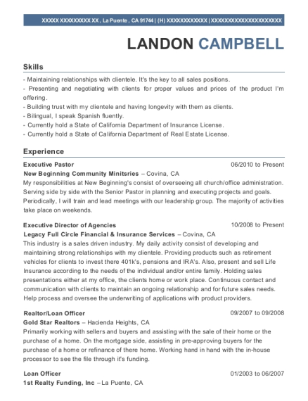 Best Executive Pastor Resumes | ResumeHelp