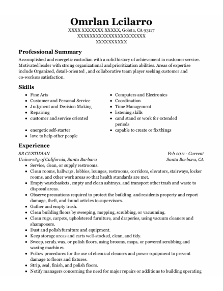 Musician resume sample California