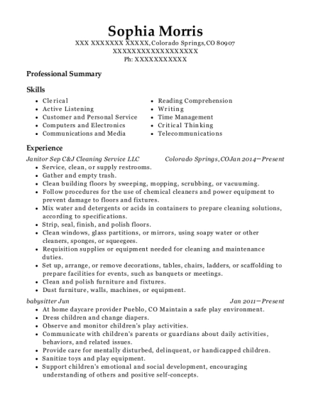 Customer care representative resume sample Colorado