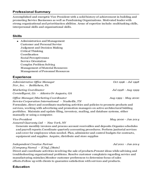 Administrative Office Manager resume sample Colorado