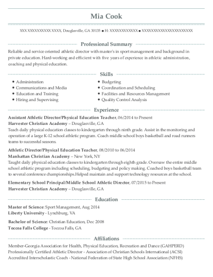 Cover Letter For Athletic Director from onlineresumehelpprodcdn1.azureedge.net