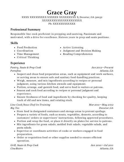 Pantry resume template Georgia