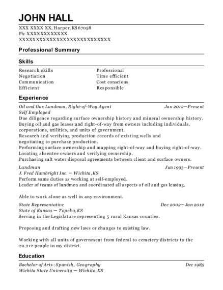Best Oil And Gas Resumes | ResumeHelp