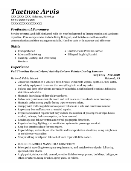 Customer Service resume format Kansas