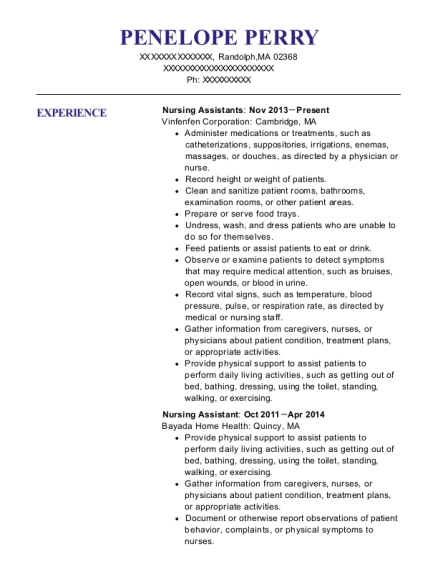 Us Peace Corps General Service Manager Resume Sample