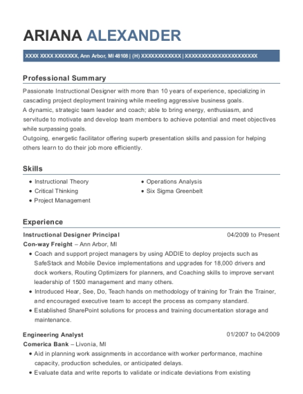 20 Best Instructional Designer Resumes Resumehelp
