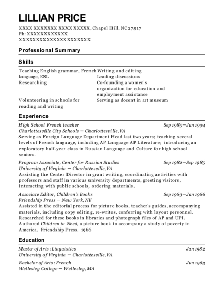 Resume format for french teacher critical essay on the lion the witch and the wardrobe