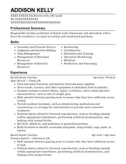 Resume for cowboy pay to get esl college essay on hillary clinton