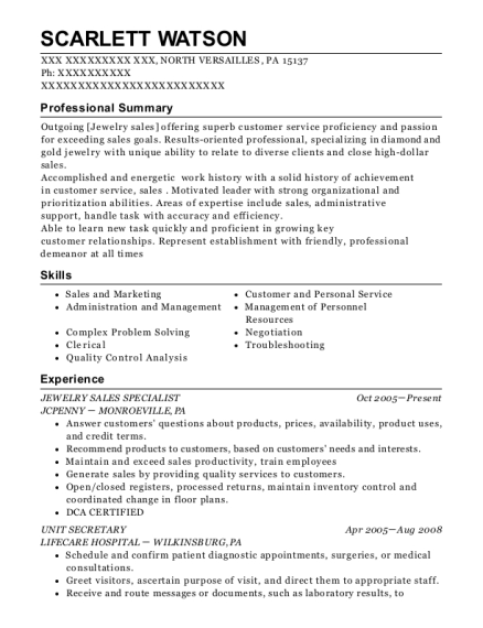 snyders lance ar collections supervisor resume sample