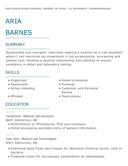 Assistant Sales Manager resume template Pennsylvania
