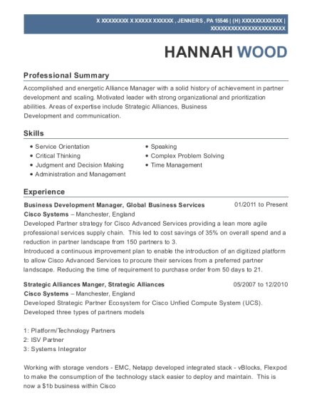 Business Development Manager resume format Pennsylvania