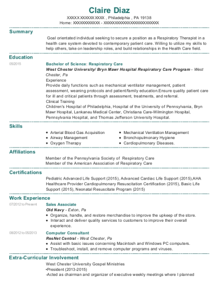 Sales Associate resume format Pennsylvania