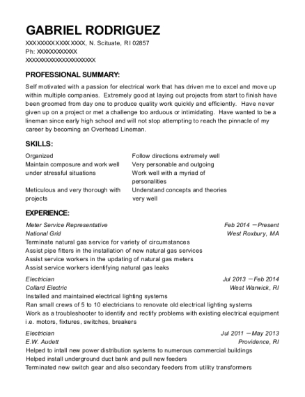 Online professional resume writing services rhode island