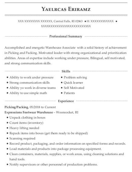 Picking resume template Rhode Island