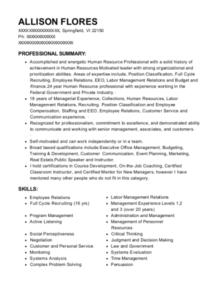 Market Research Analysts and Marketing Specialists resume template Virgin Islands