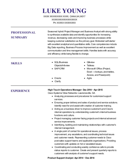 nationstar mortgage business operations analyst resume