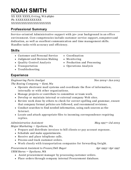 Top 20 Boeing Job Resume Objective Examples you can use   Best Resume Objective Examples