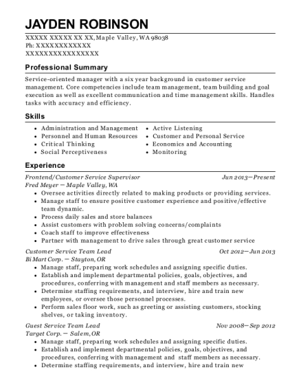 capital one minister of music resume sample